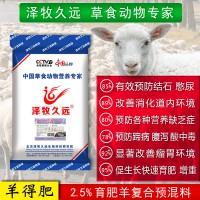 2.5%肉羊快速育肥预混料