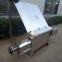 威海牛猪鸡粪污榨干机遥控式自动冲洗筛网分离机