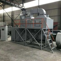 喷漆喷涂催化燃烧设备-有机废气治理催化燃烧设备